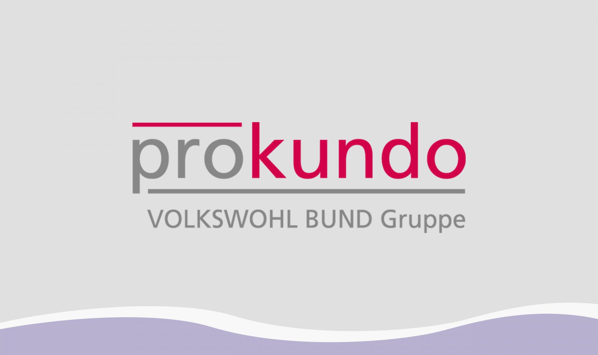 Prokundo Logo, Kachel